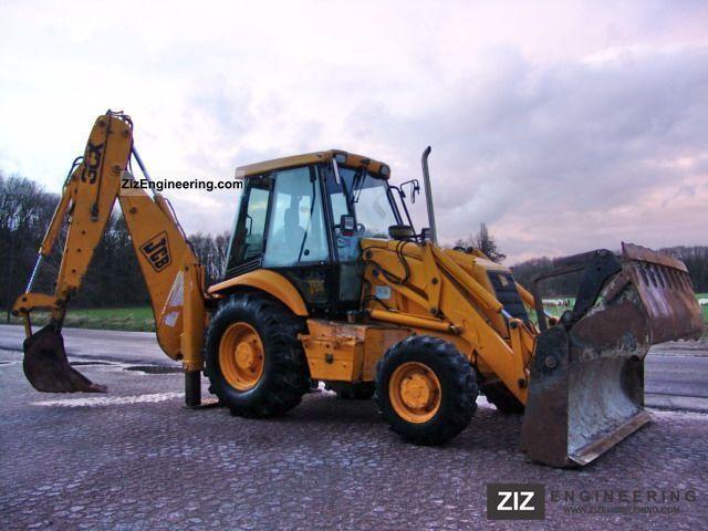 1998 JCB  3CX TELE 4 / 1 Construction machine Mobile digger photo
