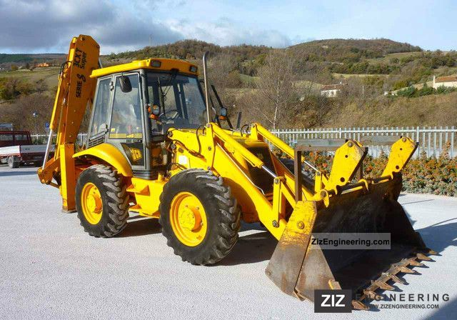 1996 JCB  3 CX Super Construction machine Combined Dredger Loader photo