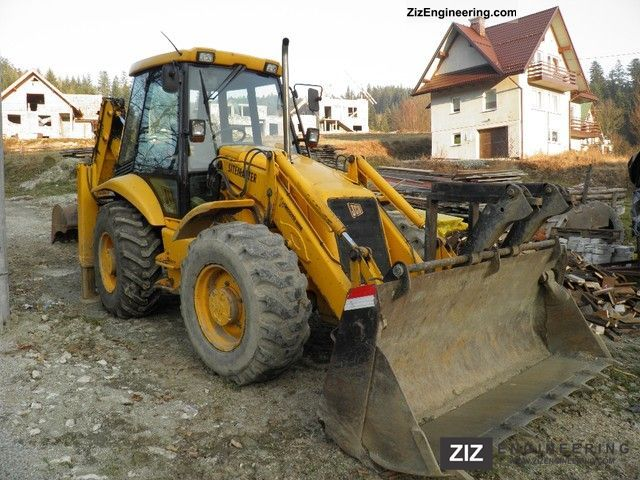 2000 JCB  3CX Construction machine Combined Dredger Loader photo