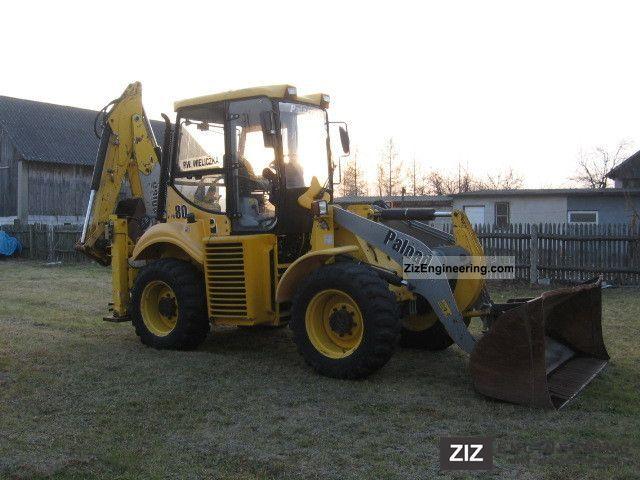 2008 JCB  Palazzani PB 80 Construction machine Mobile digger photo
