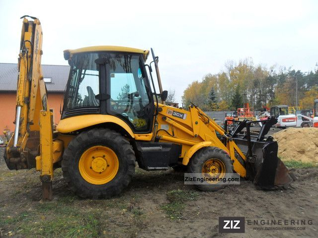 2002 JCB  3CX 3CX Construction machine Mobile digger photo