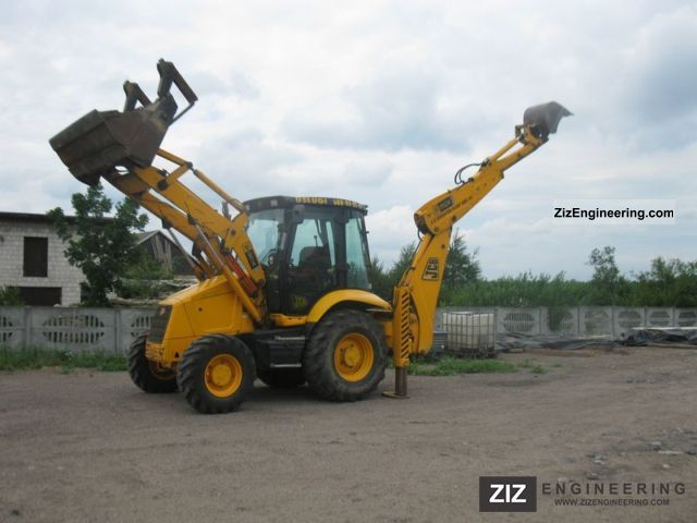 2002 JCB  3CX Construction machine Mobile digger photo