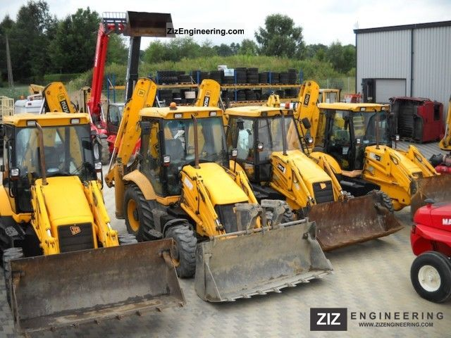 2003 JCB  3CX Site Master Construction machine Combined Dredger Loader photo