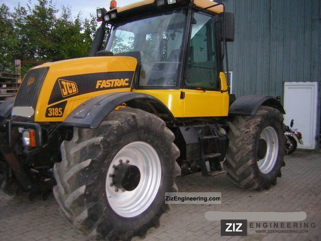 1999 JCB  3185 Fast jerk 65 km / h, FH, FZ, climate, Agricultural vehicle Tractor photo