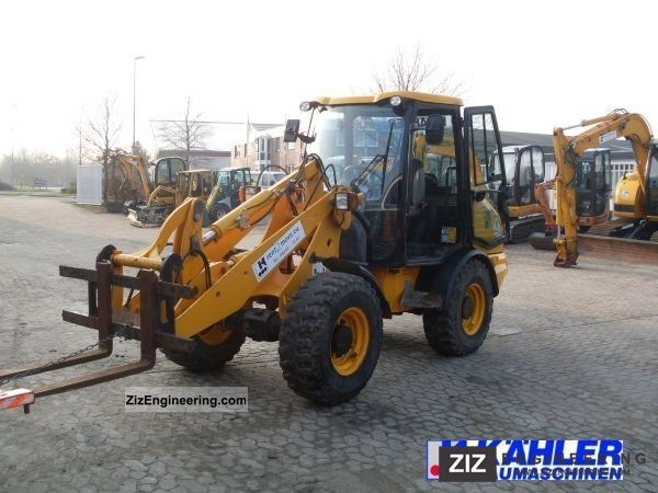 2007 JCB  T3 406 wheel loader bucket / fork Agricultural vehicle Front-end loader photo