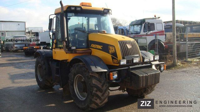 2003 JCB  3185 Agricultural vehicle Tractor photo