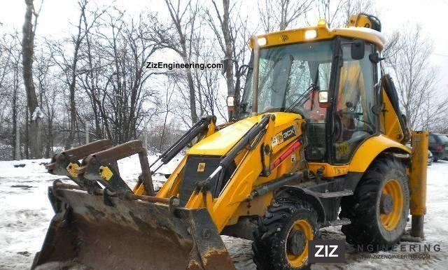 2008 JCB  3CX Construction machine Mobile digger photo