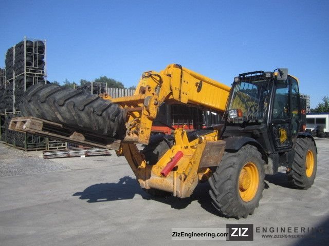 2006 JCB  540-140 Forklift truck Telescopic photo