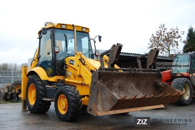2006 JCB  3CX Construction machine Combined Dredger Loader photo