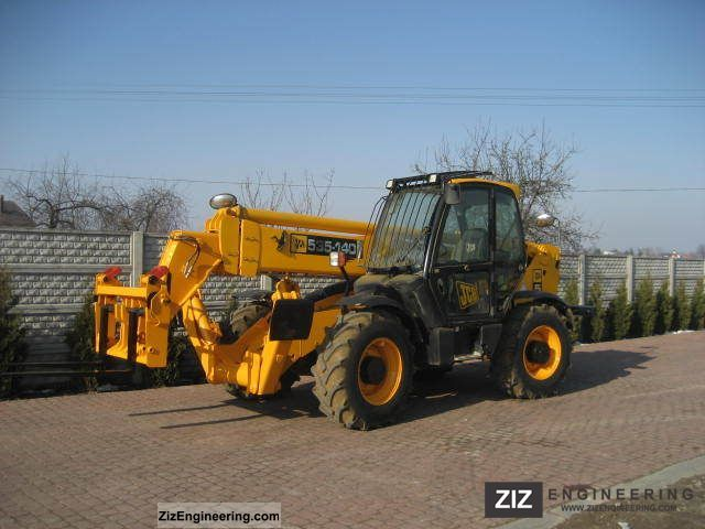 2008 JCB  535-140 Construction machine Wheeled loader photo