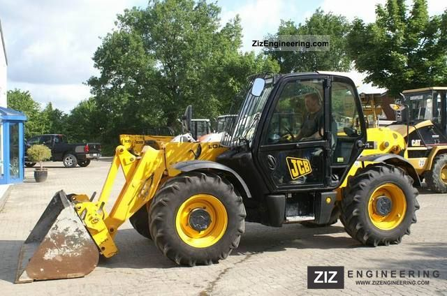 2008 JCB  531-70 - 7 m telescopic loader, shovel, fork Construction machine Other construction vehicles photo