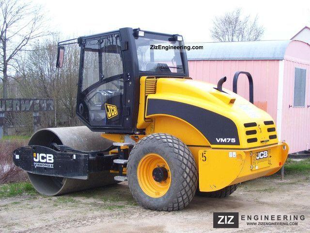 2010 JCB  VM75D Construction machine Rollers photo