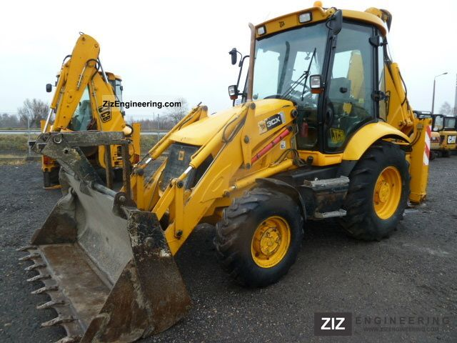 2007 JCB  3CX SITEMASTER Construction machine Combined Dredger Loader photo