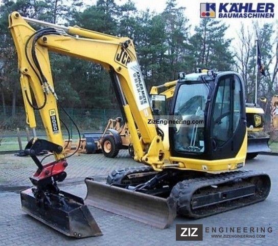 2007 JCB  8080 ZTS Construction machine Mini/Kompact-digger photo