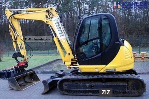 Jcb 8080 Zts 2007 Mini Kompact Digger Construction