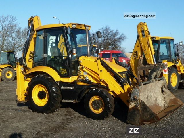 2008 JCB  3CX SITEMASTER Construction machine Combined Dredger Loader photo
