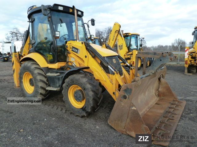 2008 JCB  3CX CONTRACTOR Construction machine Combined Dredger Loader photo