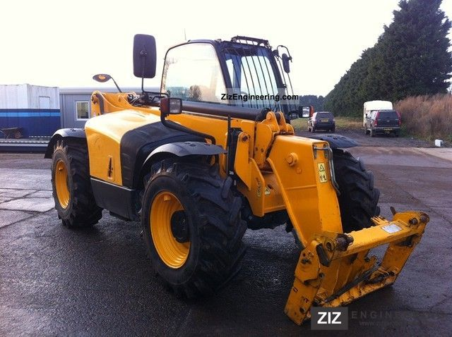 2009 JCB  535-95 turbo - Sway / level control! Construction machine Wheeled loader photo