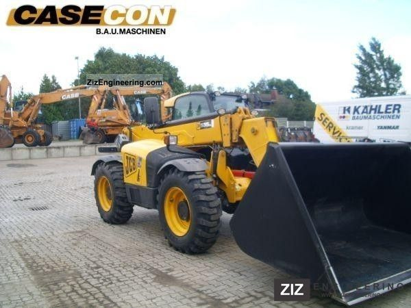 2009 JCB  535-95 AGRI tractor with air brakes Agricultural vehicle Other agricultural vehicles photo