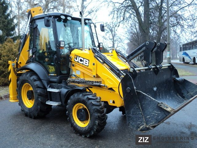 2011 JCB  3CX CONTRACTOR ECO 118 MTH 2011 Construction machine Mobile digger photo