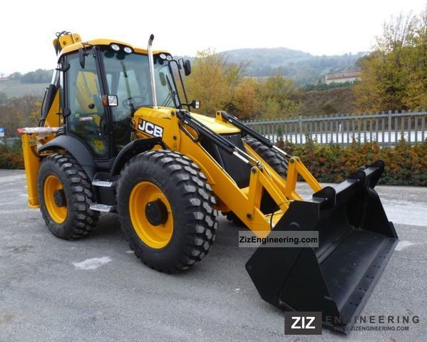 2011 JCB  4CX ECO T-Max Construction machine Combined Dredger Loader photo