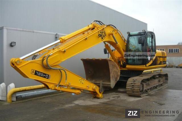 Jcb Js 210 Lc 2008 Caterpillar Digger Construction