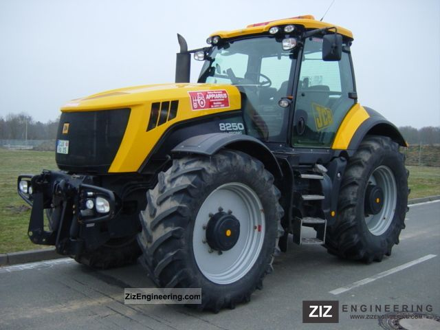Jcb Vario Tronic 8250 2008 Agricultural Tractor Photo And