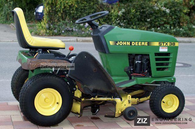 John Deere Stx 38 : John deere stx agricultural reaper photo and specs