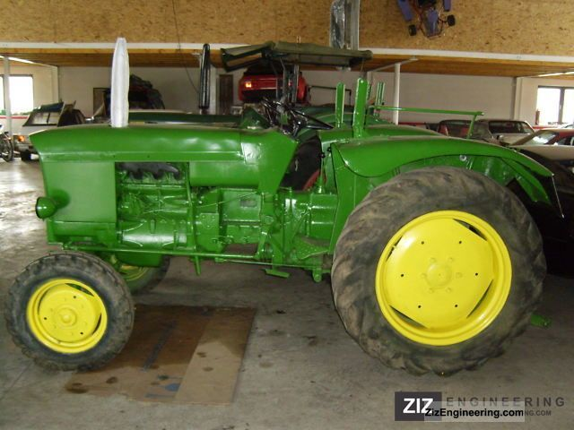1967 John Deere  Lanz 510 Agricultural vehicle Tractor photo
