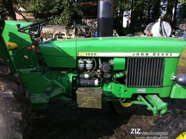John Deere 1020 Engine : John deere  agricultural tractor photo and specs