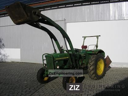 john deere lanz 710 1964 agricultural tractor photo and specs. Black Bedroom Furniture Sets. Home Design Ideas