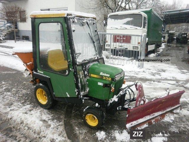 John Deere Snow Plow : John deere snow plow salt spreaders agricultural