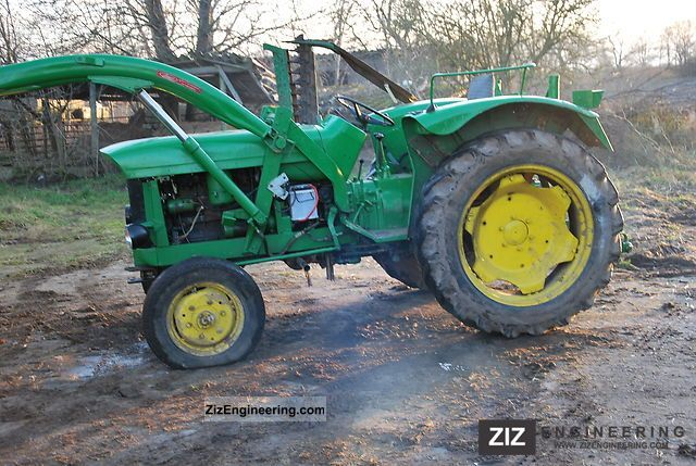 john deere lanz 500 1963 agricultural tractor photo and specs. Black Bedroom Furniture Sets. Home Design Ideas