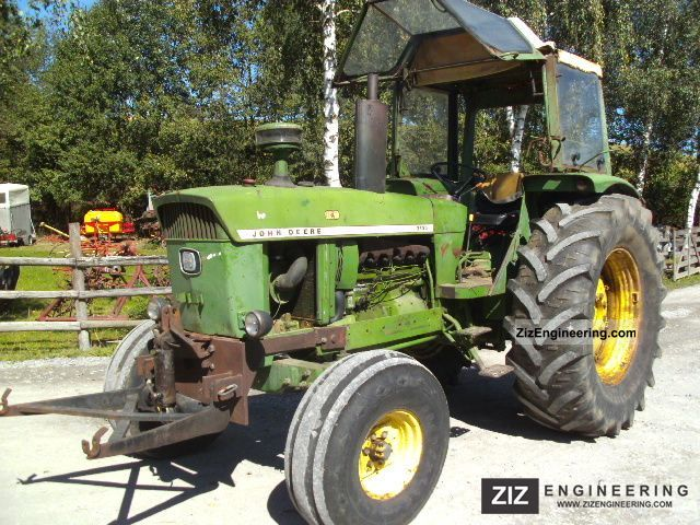 1974 John Deere  3130 LS Agricultural vehicle Tractor photo