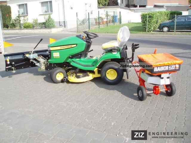 2011 John Deere  X300R lawn tractor snow removal, snow plow Agricultural vehicle Tractor photo