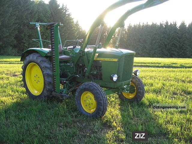 john deere lanz 300 1962 agricultural tractor photo and specs. Black Bedroom Furniture Sets. Home Design Ideas