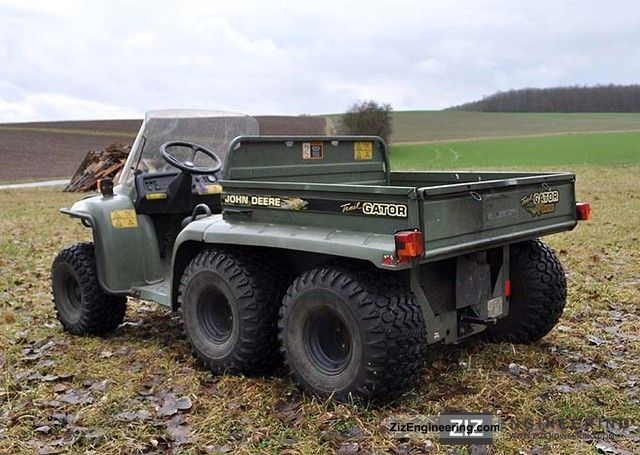 john deere gator 6x4 trial 2004 agricultural tractor photo and specs. Black Bedroom Furniture Sets. Home Design Ideas