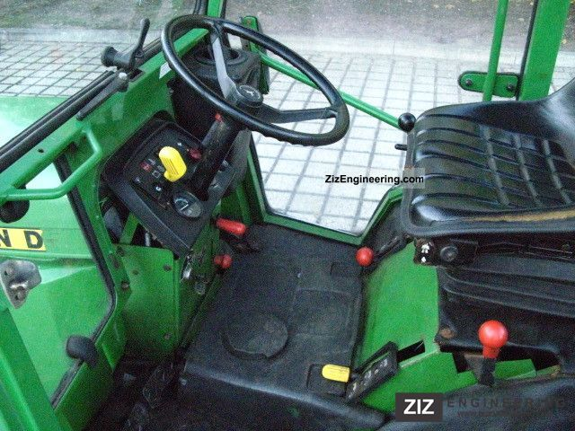 John Deere 755 1989 Agricultural Tractor Photo And Specs