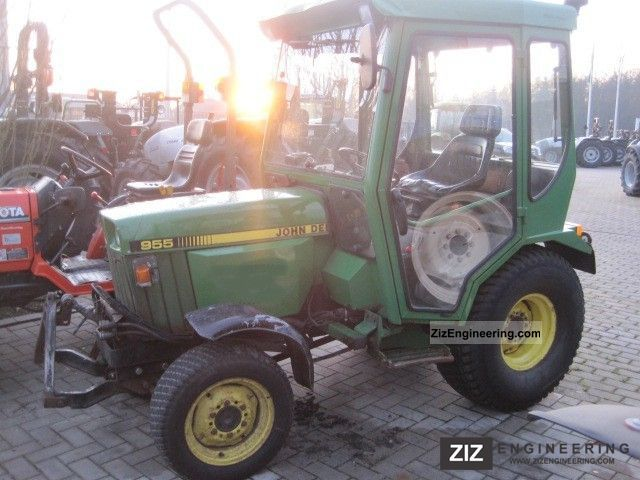 1998 John Deere  HST 955 FH / FC 2 - seater Agricultural vehicle Tractor photo