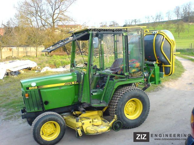 John Deere 855 2011 Agricultural Tractor Photo And Specs