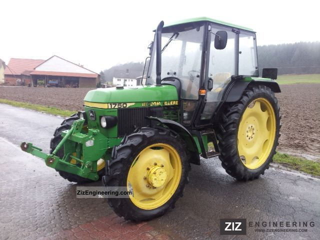 John Deere 1750 1994 Agricultural Tractor Photo an
