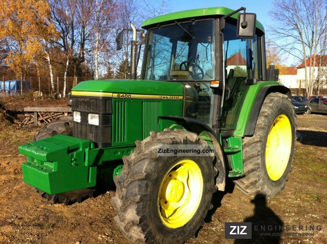 1993 John Deere  6400 Agricultural vehicle Tractor photo