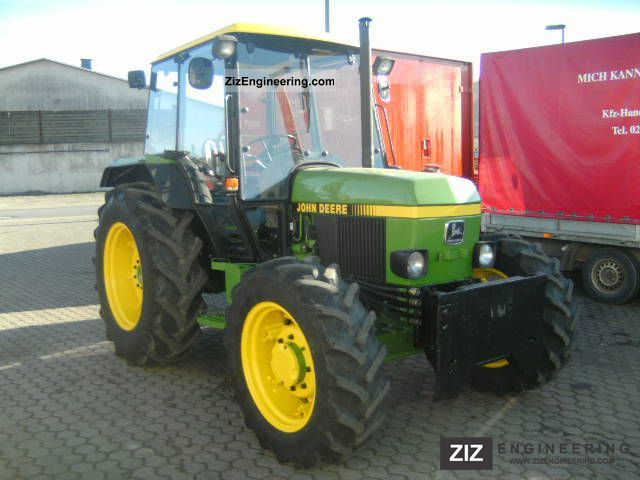 1988 John Deere 1750 Agricultural vehicle Tractor