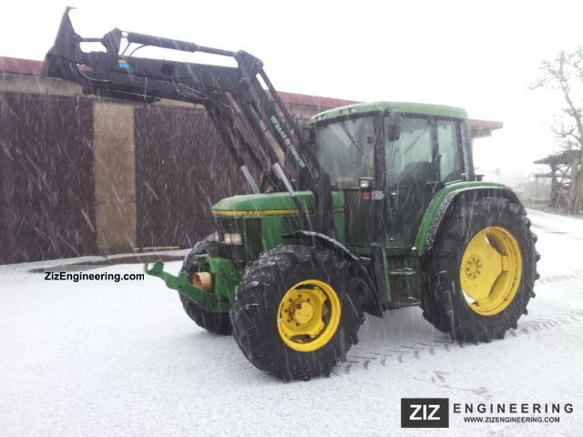 1995 John Deere  6400 Agricultural vehicle Tractor photo