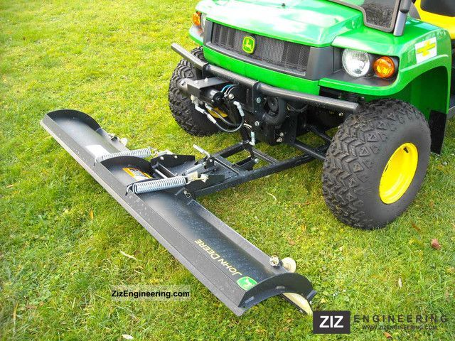 John Deere Gator Plow >> John Deere Gator HPX 4x4 2011 Agricultural Loader wagon Photo and Specs