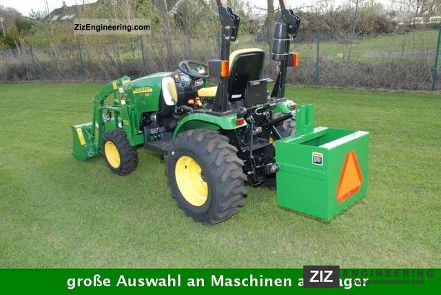Tractor Ballast Box : John deere and with front loader shovel ballast box