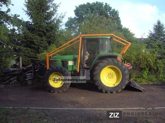 1998 John Deere  Knight JD 6910 new winch Agricultural vehicle Forestry vehicle photo