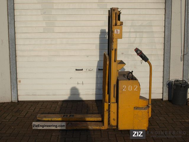 1979 Jungheinrich  EJC 1to ex army ant Forklift truck Other forklift trucks photo