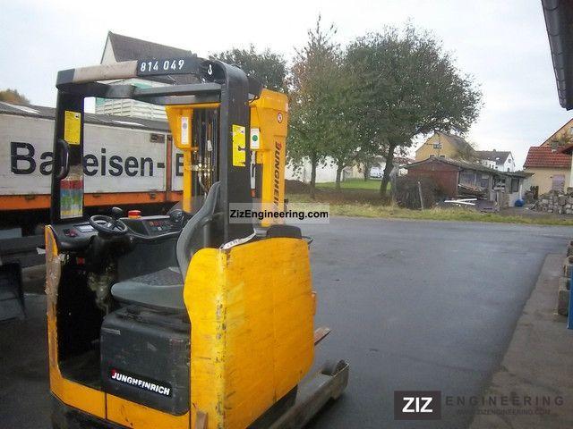 1996 Jungheinrich  ETM 14 (814.49) Forklift truck Reach forklift truck photo
