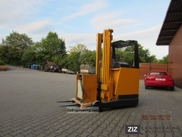 1990 Jungheinrich  ETV 13.5 G115 Forklift truck Reach forklift truck photo